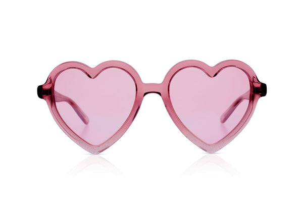 Sons + Daughters Eyewear Childrens Fashion Kids Sunglasses Lola LC Pink Glitter