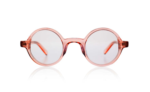 Sons + Daughters Eyewear Childrens Fashion Kids Bluelight Eyeglasses Harry Bio Transparent Rose