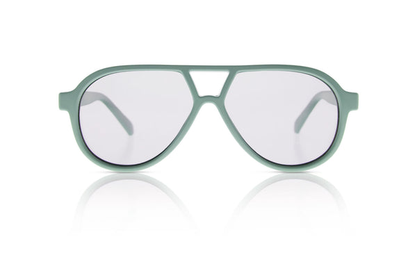 Sons + Daughters Eyewear Childrens Fashion Kids Sunglasses Rocky ii Matte Mint