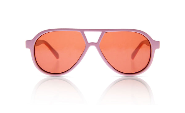 Sons + Daughters Eyewear Childrens Fashion Kids Sunglasses Rocky ii Matte Rose