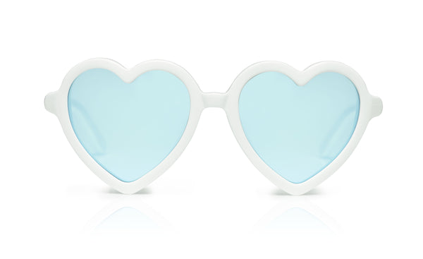 Sons + Daughters Eyewear Childrens Fashion Kids Sunglasses Lola White