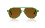Sons + Daughters Eyewear Childrens Fashion Kids Sunglasses Rocky ii Olive Green