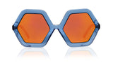 Sons + Daughters Eyewear Childrens Fashion Kids Sunglasses Honey Blue Jelly