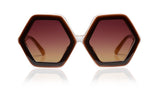 Sons + Daughters Eyewear Childrens Fashion Kids Sunglasses Honey Chocolate_Layer
