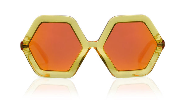 Sons + Daughters Eyewear Childrens Fashion Kids Sunglasses Honey Yellow Jelly