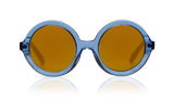 Sons + Daughters Eyewear Childrens Fashion Kids Sunglasses Lenny Blue Jelly