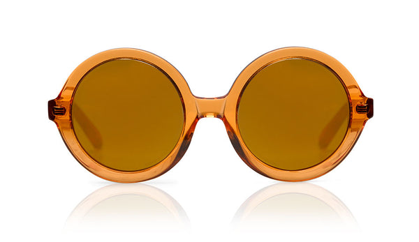 Sons + Daughters Eyewear Childrens Fashion Kids Sunglasses Lenny Orange Jelly