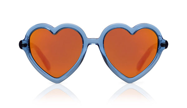 Sons + Daughters Eyewear Childrens Fashion Kids Sunglasses Lola Blue Jelly