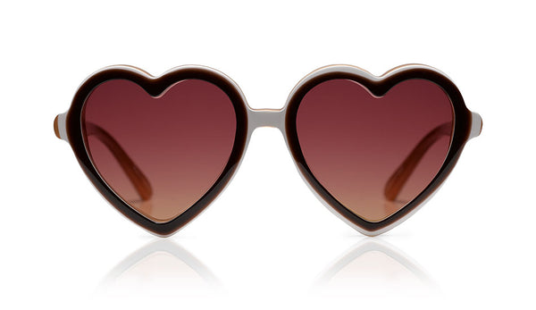 Sons + Daughters Eyewear Childrens Fashion Kids Sunglasses Lola Chocolate Layer