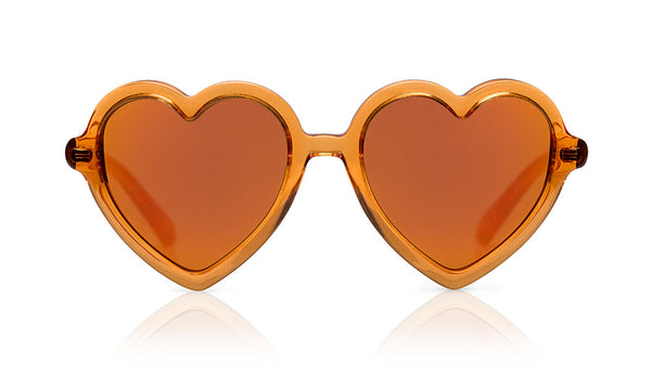 Sons + Daughters Eyewear Childrens Fashion Kids Sunglasses Lola Orange Jelly