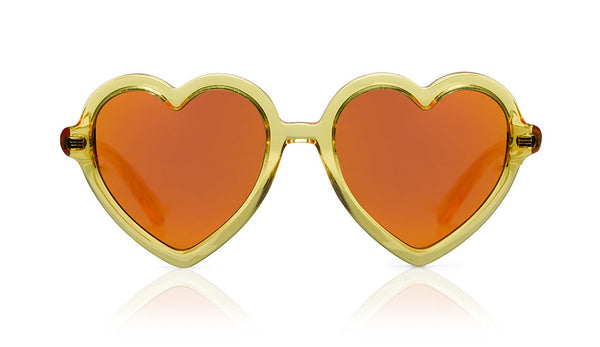 Sons + Daughters Eyewear Childrens Fashion Kids Sunglasses Lola Yellow Jelly