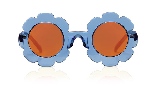 Sons + Daughters Eyewear Childrens Fashion Kids Sunglasses Pixie Blue Jelly