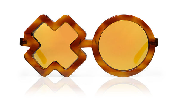 Sons + Daughters Eyewear Childrens Fashion Kids Sunglasses XO Crème Burlee