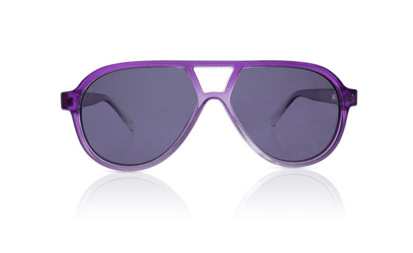 Sons + Daughters Eyewear Childrens Fashion Kids Sunglasses Rocky ii Crystal Purple
