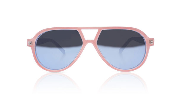 Sons + Daughters Eyewear Childrens Fashion Kids Sunglasses Rocky ii Crystal Pink