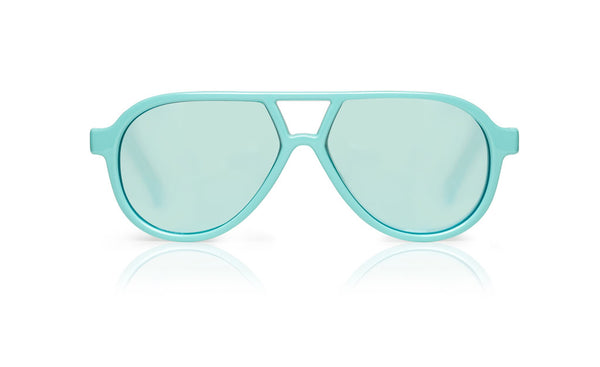 Sons + Daughters Eyewear Childrens Fashion Kids Sunglasses Rocky ii Aqua