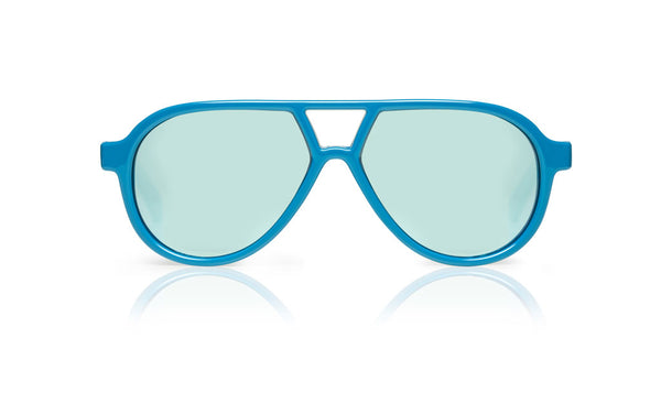 Sons + Daughters Eyewear Childrens Fashion Kids Sunglasses Rocky ii Colette Blue