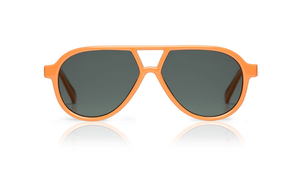 Sons + Daughters Eyewear Childrens Fashion Kids Sunglasses Rocky ii Orange