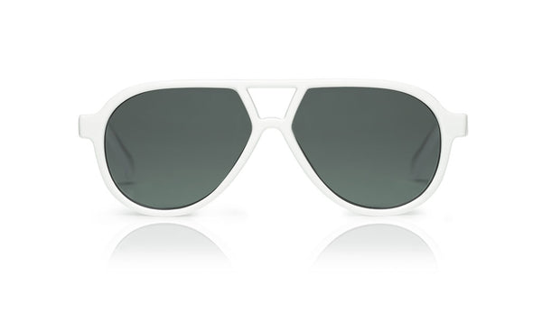 Sons + Daughters Eyewear Childrens Fashion Kids Sunglasses Rocky ii White