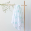 Mama Maya Mint Spot Swaddle