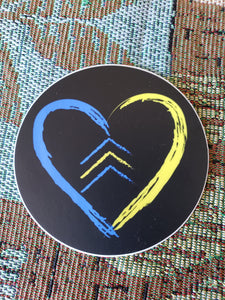 "3"" x 3"" Down Syndrome Awareness Sticker"