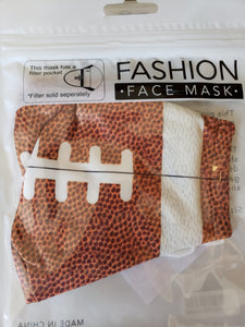 Sport Print Face Mask -Adult