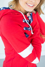 Load image into Gallery viewer, Star Spangled Varsity Hoodie