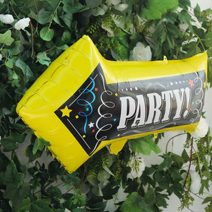 """Party Here"" Arrow Shaped Mylar Balloon - Pack of 2!"