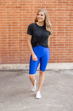 Load image into Gallery viewer, Bermuda Leggings | Royal Blue