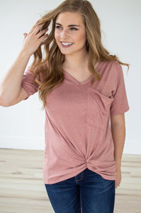 Slouchy Pocket Tee | Multiple Colors!