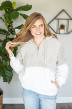 Load image into Gallery viewer, Sherpa Hoodie | Light Grey