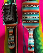Load image into Gallery viewer, Western Printed Paddle Hairbrushes