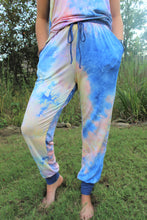 Load image into Gallery viewer, Accent Joggers | Tie Dye at Dusk