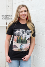 Load image into Gallery viewer, Cowboy Collage Tee