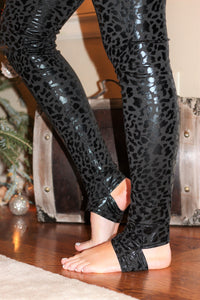 Black Panther Stirrup Leggings