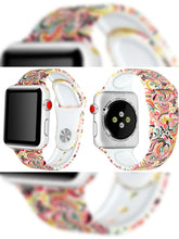 Load image into Gallery viewer, Silicone Rubber Watchbands - For Apple iWatch Series 1/2/3