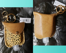 Load image into Gallery viewer, Fashion Hand Sanitizer Holders with Keyring and Clip