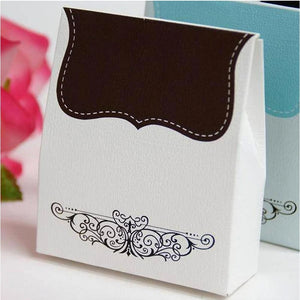 100 Pack of Chocolate Color Favor Boxes
