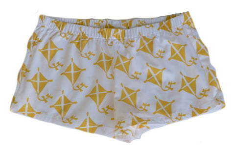Boxer Shorts - Yellow Kite