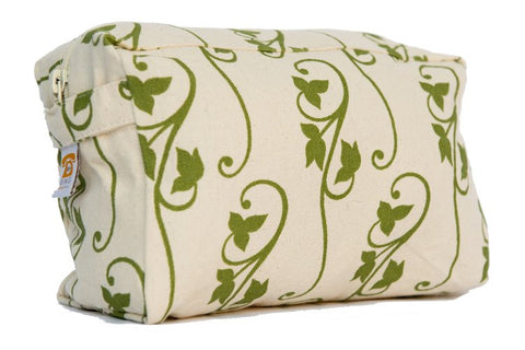 Cosmetic Bag - Green Ivy