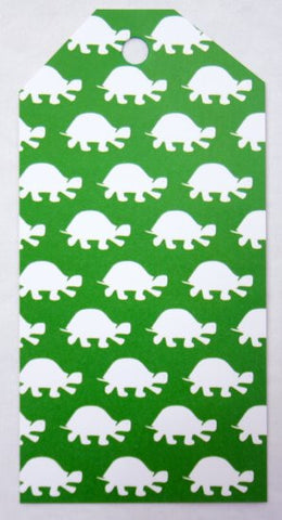 Gift Tags - Green Turtle
