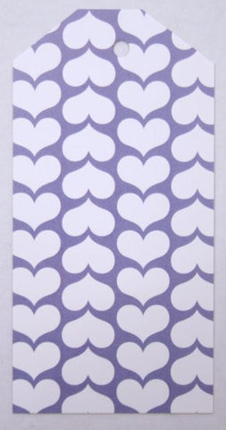 Gift Tags - Lavender Heart