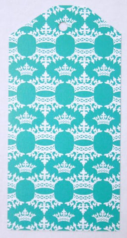 Gift Tags - Turquoise Crown