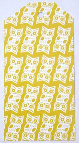 Gift Tags - Yellow Owl
