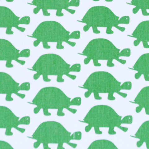 Duvet Cover - Twin - Green Turtle