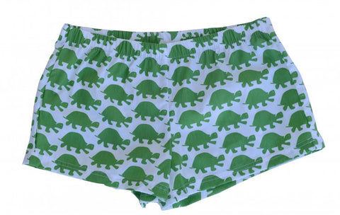 Boxer Shorts - Green Turtle