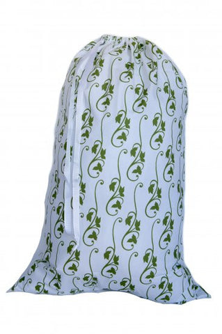 Laundry Bag - Green Ivy