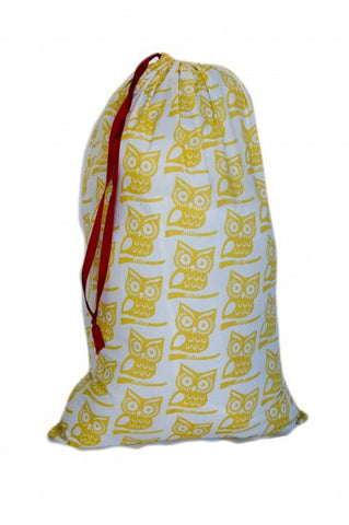Laundry Bag - Yellow Owl