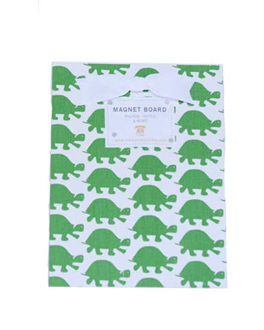 Magnet Board-Small - Green Turtle