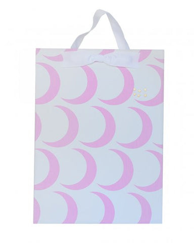 Magnet Board-Large - Pink Crescent Moon